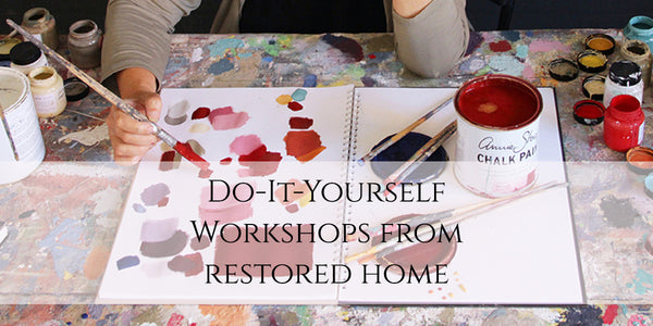 Restored Home Workshop Schedule