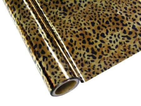 Foil - Leopard 12.5-in x 25-ft Roll
