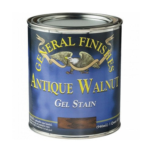 General Finishes Gel Stain - Antique Walnut - QUART
