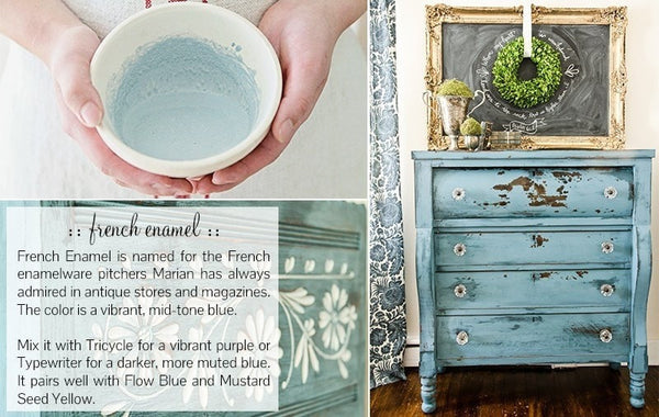 Miss Mustard Seed's Milk Paint - French Enamel