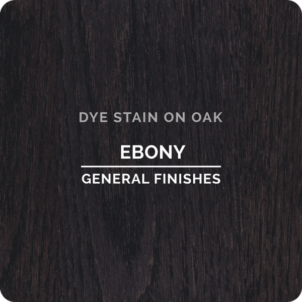General Finishes Dye Stain - Ebony - PINT
