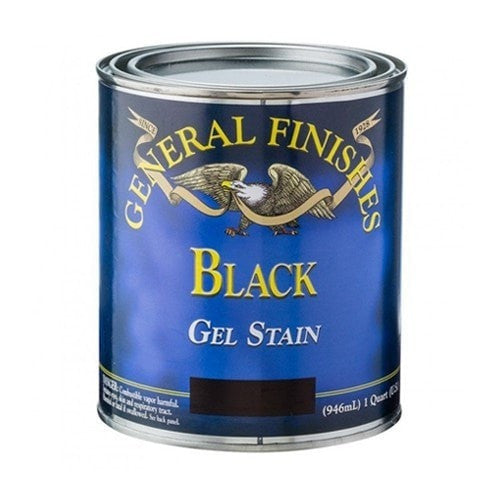General Finishes Gel Stain - Black - QUART