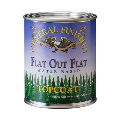 General Finishes Flat Out Flat Topcoat - Flat - PINT