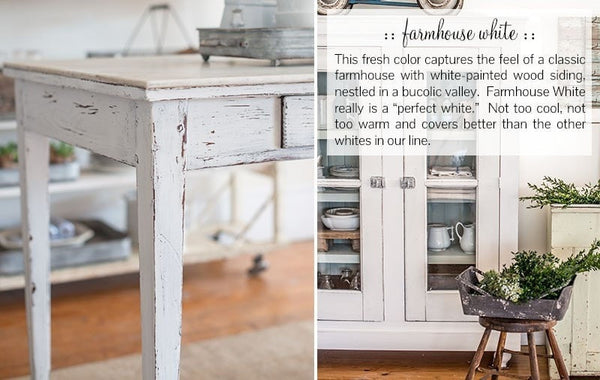 Miss Mustard Seed's Milk Paint - Farmhouse White