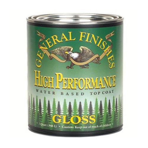 General Finishes High Performance Topcoat - Gloss - PINT