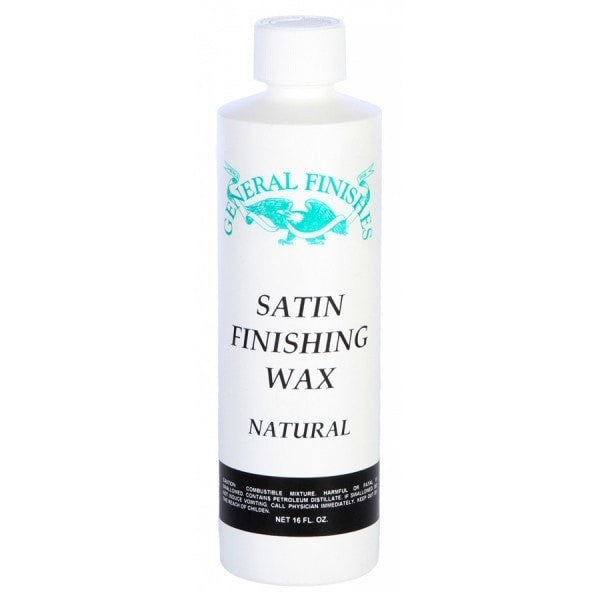 GENERAL FINISHES Finishing Wax - Satin - 16 OZ