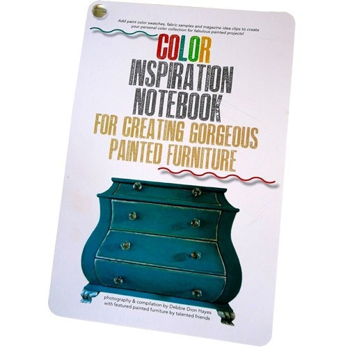 Color Inspiration Notebook by Debbie Dion Hayes