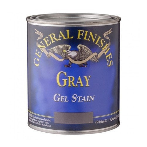 General Finishes Gel Stain - Gray - QUART