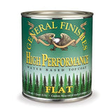 General Finishes High Performance Topcoat - Flat GALLON