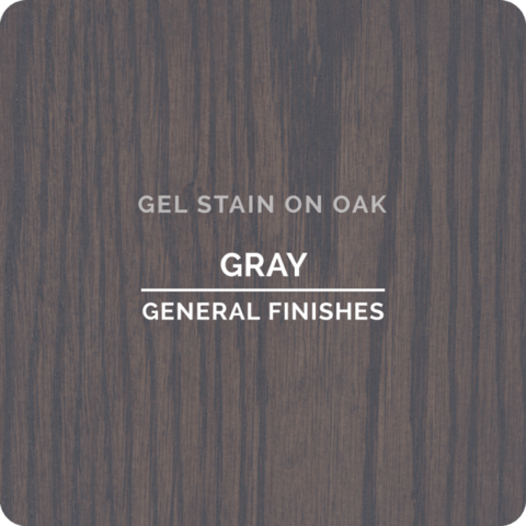 General Finishes Gel Stain - Gray - PINT