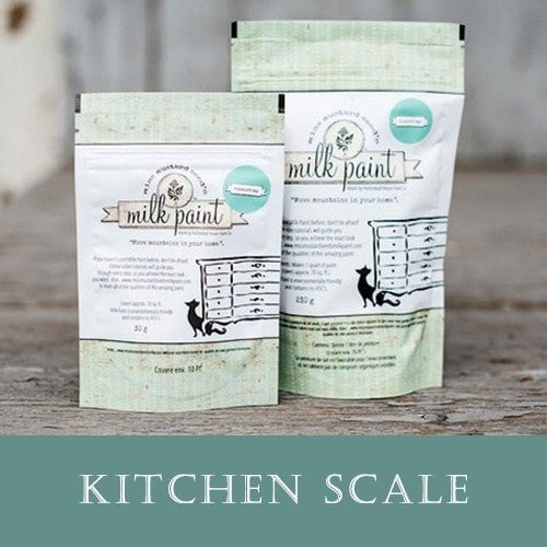 Miss Mustard Seed's Milk Paint - Kitchen Scale