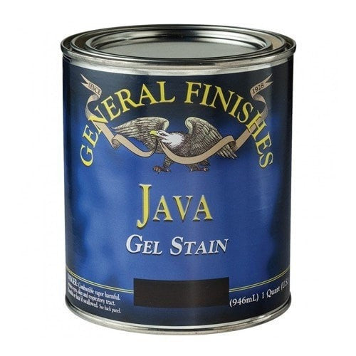 General Finishes Gel Stain - Java - QUART
