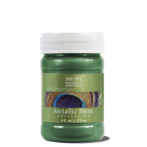 Modern Masters Metallic Paint - Hunter Green