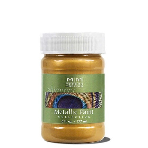Modern Masters Metallic Paint - Iridescent Gold