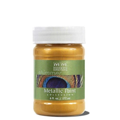 Modern Masters Metallic Paint - Pale Gold