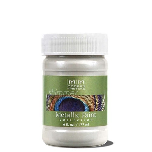 Modern Masters Metallic Paint - Pearl White
