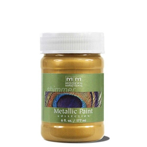 Modern Masters Metallic Paint - Rich Gold