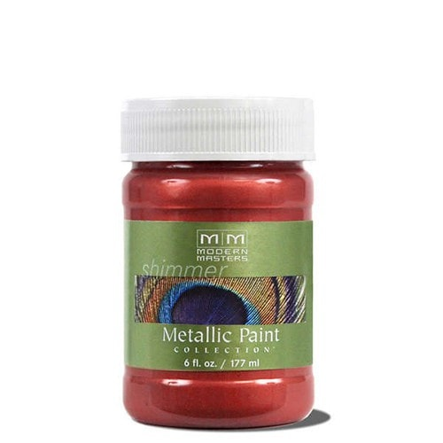 Modern Masters Metallic Paint - Sashay Red
