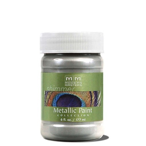 Modern Masters Metallic Paint - Silver
