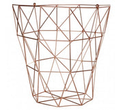 Vertex Storage Basket, Copper - Adapt Avenue