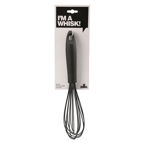 Zing - Silicone Whisk, Black - Adapt Avenue