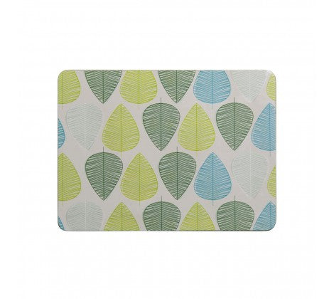 Green Leaf Set of 4 Placemats - Adapt Avenue