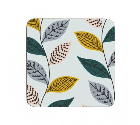 Fern Set of 4 Coasters - Adapt Avenue