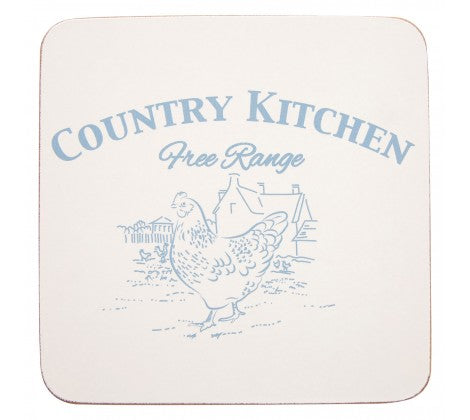 Country Kitchen Set Of 4 Coasters - Adapt Avenue