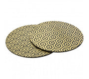 Geome Deco Set of 4 Placemats - Adapt Avenue