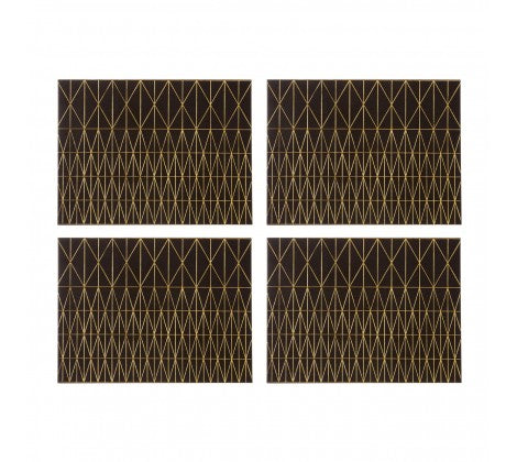 Geome Prism Set of 4 Placemats - Adapt Avenue