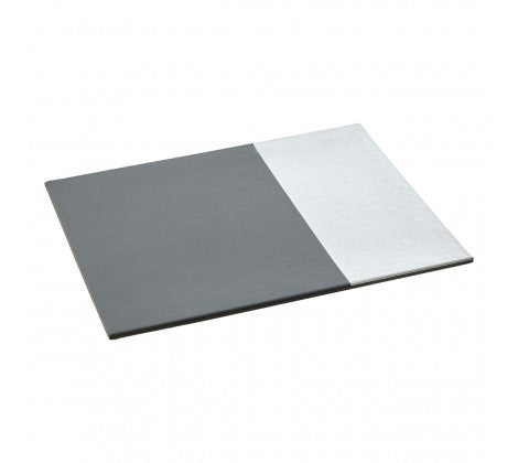 Geome Silver Dipped Set of 4 Placemats - Adapt Avenue
