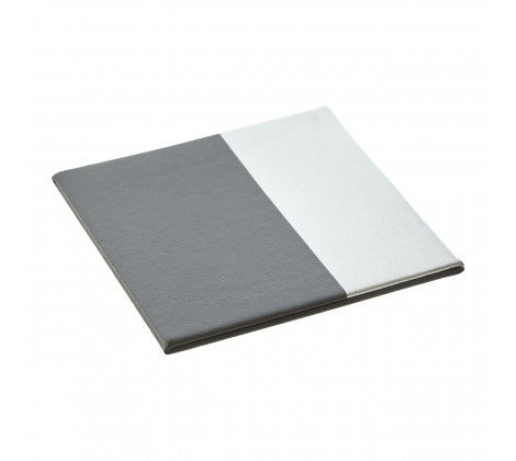 Geome Silver Dipped Set of 4 Coasters - Adapt Avenue