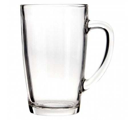 Set of 4 Tall Glass Mugs - Adapt Avenue