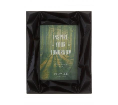 "Prisma 4 x 6"" (10 x 15cm) Black Photo Frame - Adapt Avenue"