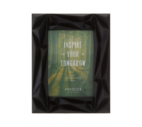 "Prisma 5 x 7"" (13 x 18cm) Black Photo Frame - Adapt Avenue"