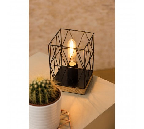 Bode Black Metal Table Lamp - Adapt Avenue