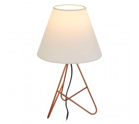 Bardo Copper Finish Wire Table Lamp - Adapt Avenue