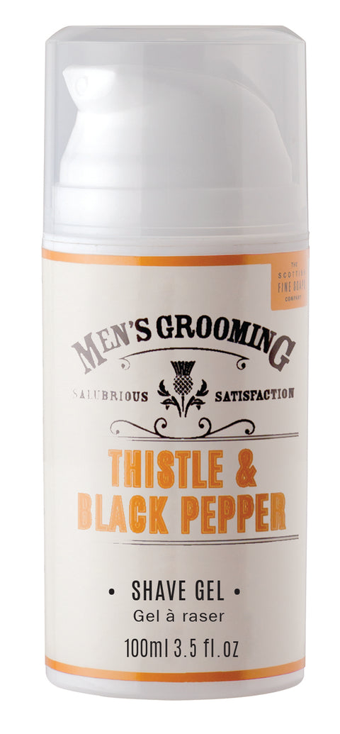 Thistle & Black Pepper Shave Gel, 100ml | Adapt Avenue
