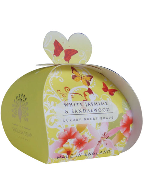 White Jasmine & Sandalwood Luxury Guest Soaps - Adapt Avenue