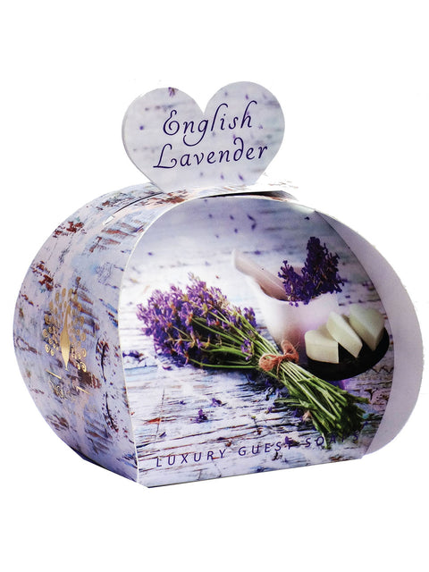 English Lavender Luxury Guest Soaps - Adapt Avenue
