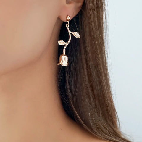 Riya Rose Dangly Earrings - Adapt Avenue