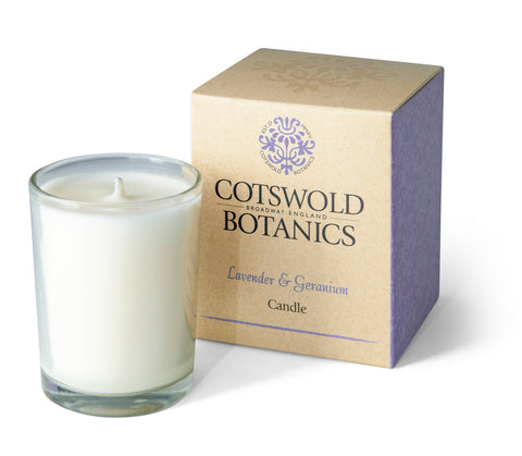 Lavender & Geranium Candle, 9cl - Adapt Avenue