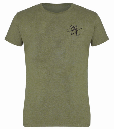 BX Original Regular Fit T-shirt - Heather Khaki - Adapt Avenue