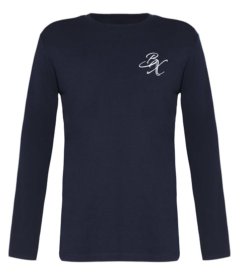 BX Original Long Sleeve T-shirt - Navy - Adapt Avenue