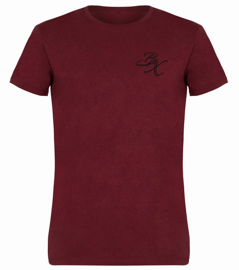BX Original Regular Fit T-shirt - Burgundy - Adapt Avenue
