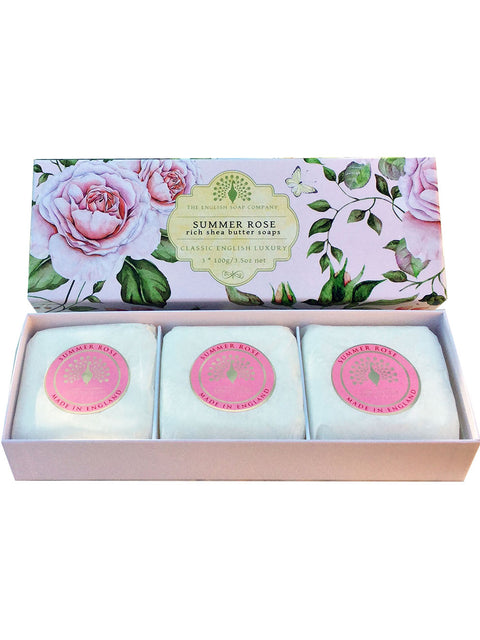 Summer Rose Gift Box Hand Soap - Adapt Avenue