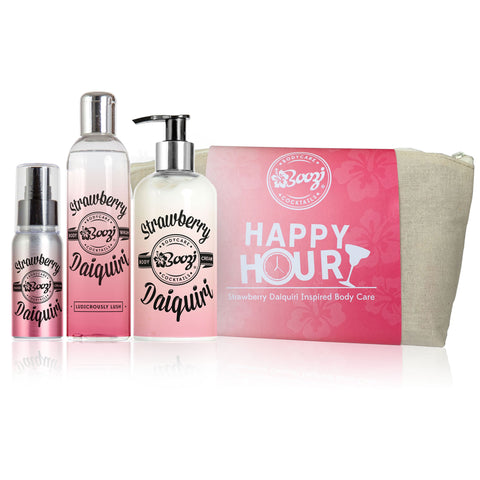 Strawberry Daiquiri Happy Hour Gift Bag - Adapt Avenue
