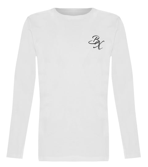 BX Original Long Sleeve T-shirt - White - Adapt Avenue