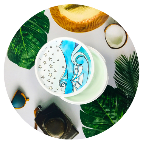 Bomb Cosmetics Coco Beach Body Butter | Adapt Avenue