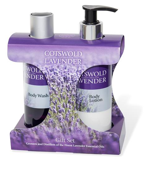 Lavender Body Wash & Body Lotion Gift Set, 200ml - Adapt Avenue